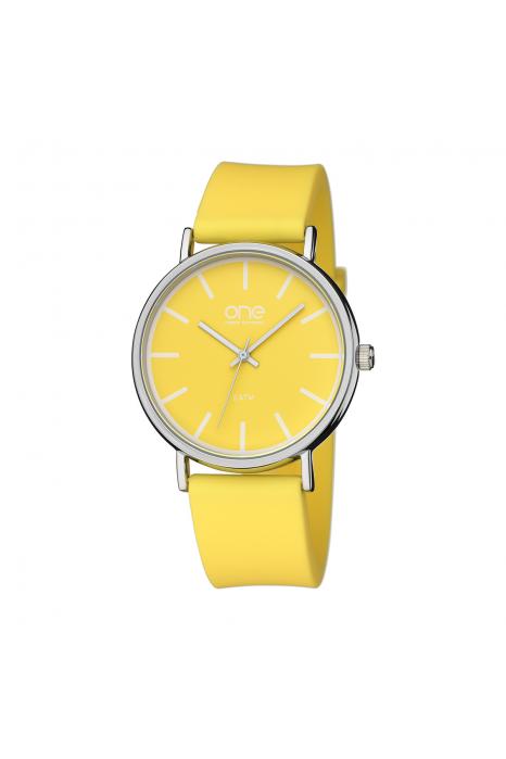 Relógio ONE COLORS Pale Amarelo