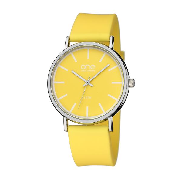 Relógio ONE COLORS Pale Amarelo OM1886AO81P
