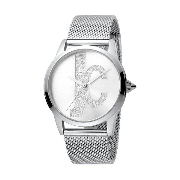 Relógio JUST CAVALLI  Logo Prateado JC1L055M0045