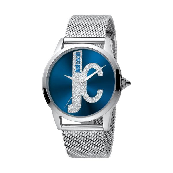 Relógio JUST CAVALLI  Logo Prateado JC1L055M0055