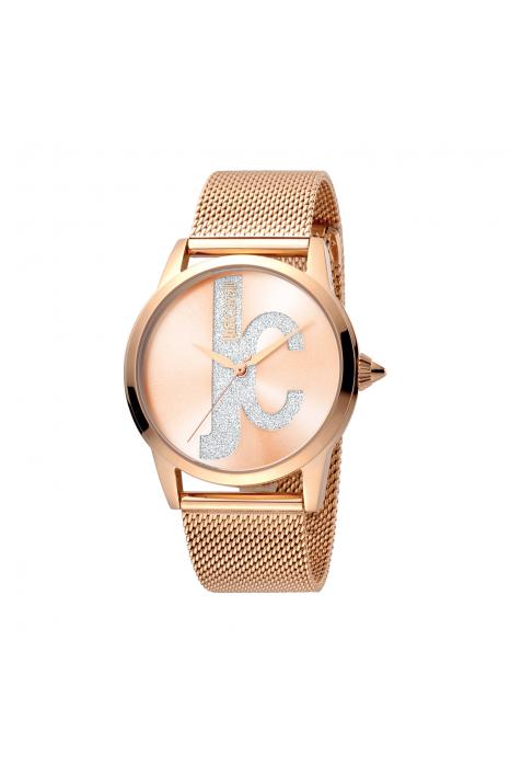 Relógio JUST CAVALLI  Logo Rosa