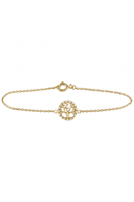 Pulseira LUCKY ELEPHANT Soul Collection Tree of Life Gold