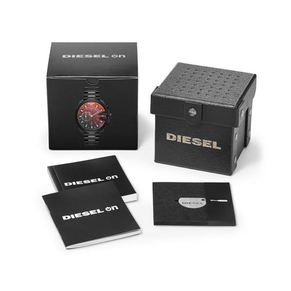 Relógio inteligente DIESEL ON  Mega Chief Hybrid (Smartwatch DZT1011