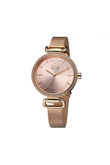 Relógio ONE Soul Ouro Rosa