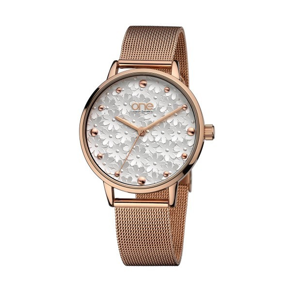 Relógio ONE Mummy Ouro Rosa OL6498BR81O