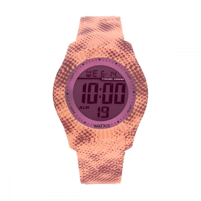 Bracelete WATX M Smart Pixel Coral e Castanho