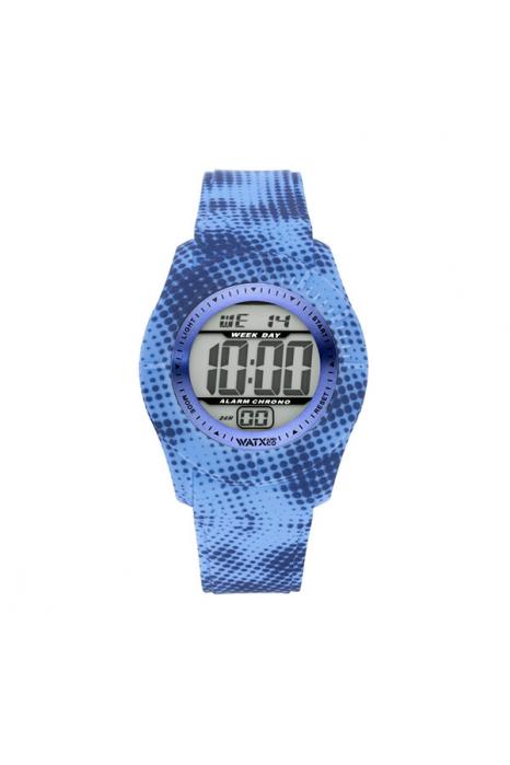 Bracelete WATX XS Smart Pixel Azul e Azul escuro