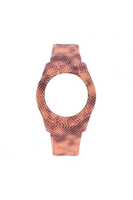Bracelete WATX XS Smart Pixel  Coral e Castanho
