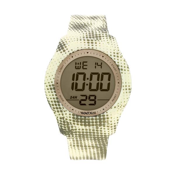 Bracelete WATX XXL Smart Pixel Amarelo e Cinza COWA3758