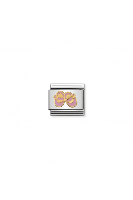 Charm Link NOMINATION Sapatos Bebé Rosa