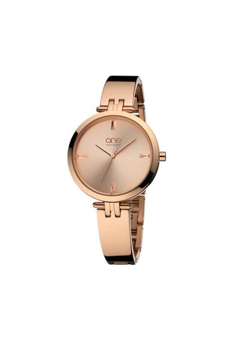 Relógio ONE Twist Ouro Rosa