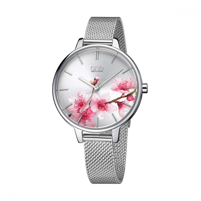 Relógio ONE  Blossom Prateado