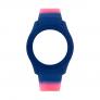 Bracelete WATX Silicone Smart Psicotropical Rosa e Azul