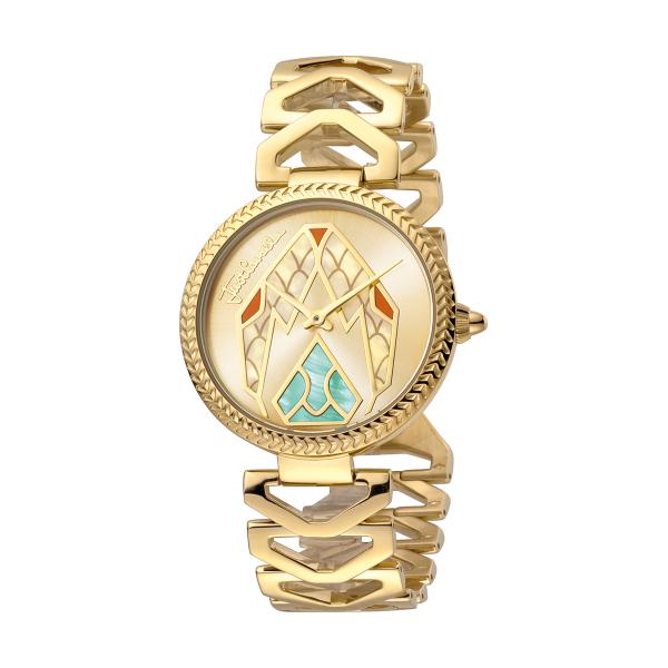 Relógio JUST CAVALLI  Magnifica Dourado JC1L045M0065