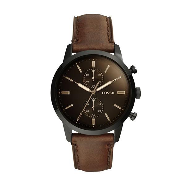 Relógio FOSSIL Townsman Castanho FS5437