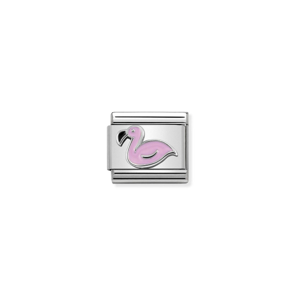 Charm Link NOMINATION Flamingo 330202-43