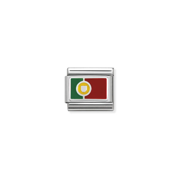 Charm Link NOMINATION Bandeira Portugal 330207-23