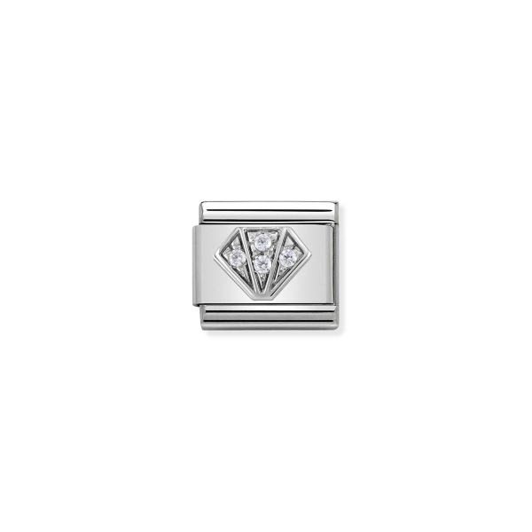 Charm Link NOMINATION Diamante 330304-32