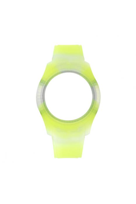 Bracelete WATX Silicone Smart Tie Dye Amarelo