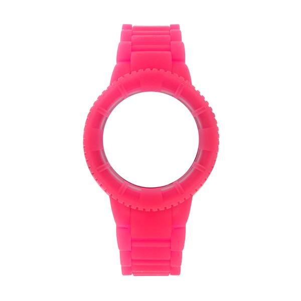 Bracelete WATX Silicone Original Glow Rosa COWA1430