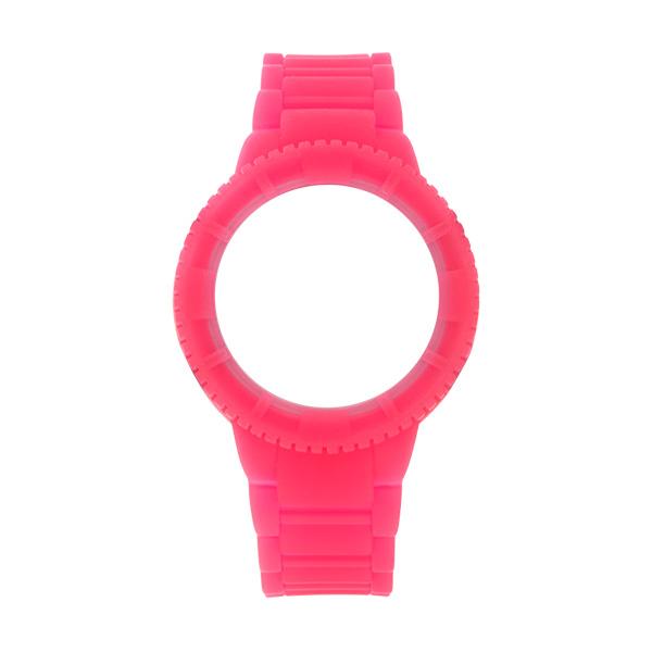 Bracelete WATX Silicone Original Glow Rosa COWA1030