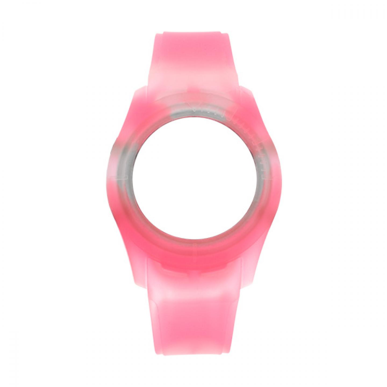 Bracelete WATX Silicone Smart Tie Dye Rosa