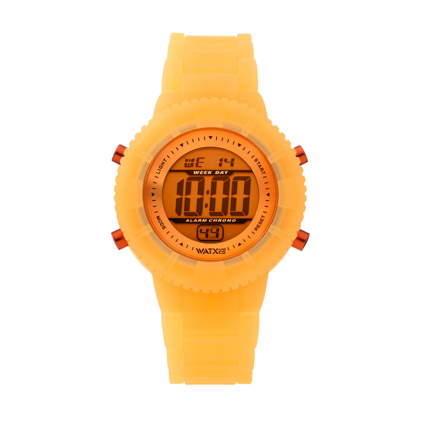 Bracelete WATX Silicone Original Glow Laranja COWA1431