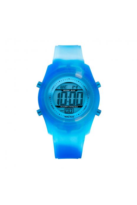 Bracelete WATX Silicone Smart Tie Dye Azul