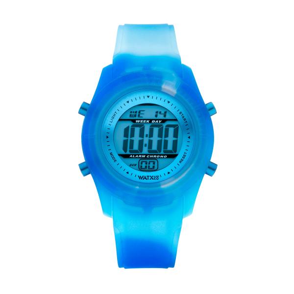 d4251f6f357 ... Bracelete WATX Silicone Smart Tie Dye Azul COWA3531