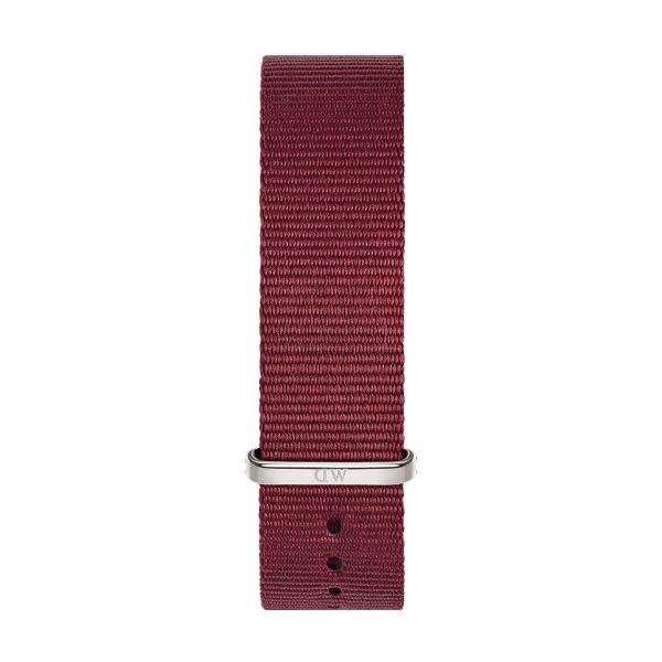 Bracelete DANIEL WELLINGTON Tecido Nato Roselyn Bordeaux DW00200208