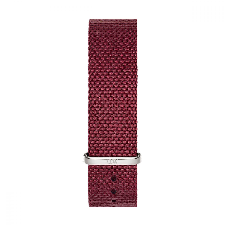 Bracelete DANIEL WELLINGTON Tecido Nato Roselyn Bordeaux