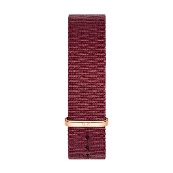 Bracelete DANIEL WELLINGTON Tecido Nato Roselyn Bordeaux DW00200207