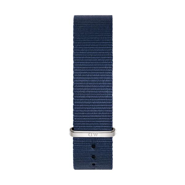 Bracelete DANIEL WELLINGTON Tecido Nato Bayswater Azul DW00200214