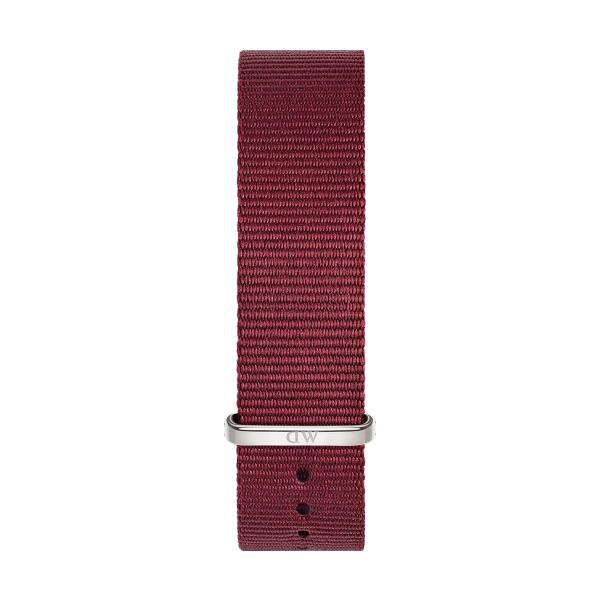 Bracelete DANIEL WELLINGTON Tecido Nato Roselyn Bordeaux DW00200212