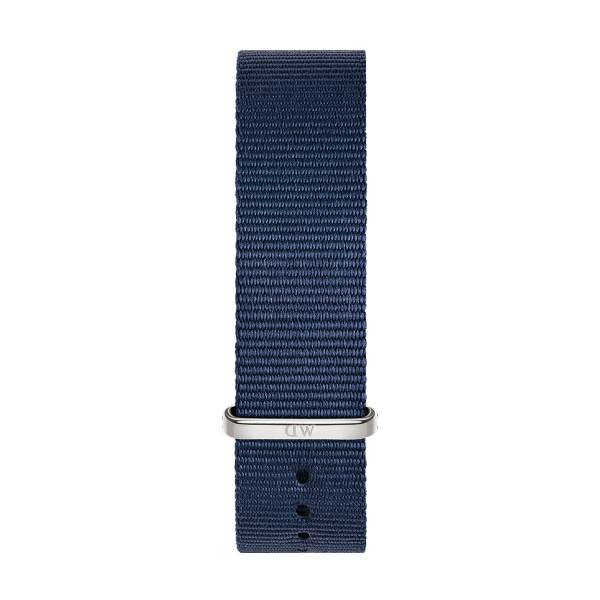 Bracelete DANIEL WELLINGTON Tecido Nato Bayswater Azul DW00200210