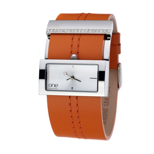 Relógio ONE Laranja OL5550BL71B