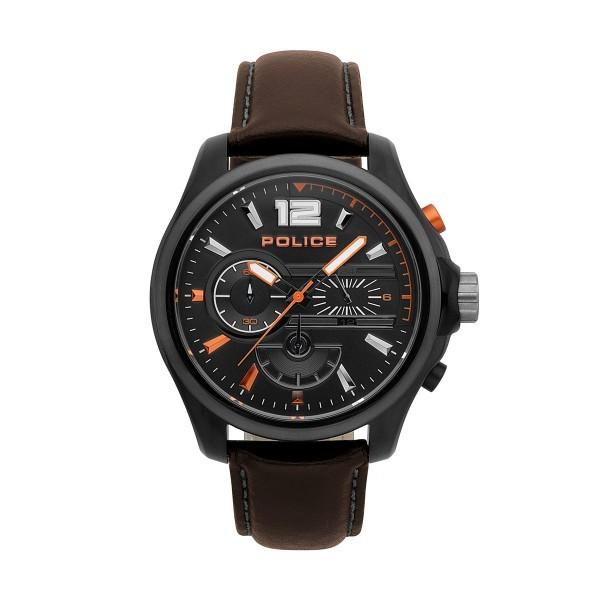 Relógio POLICE Denver Castanho P15403JSBU02