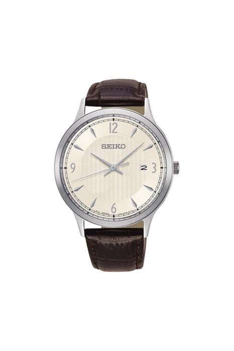Relógio SEIKO Neo Clássico Castanho