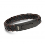 Pulseira ANJEWELS Black & Brown Braid