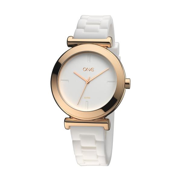 Relógio ONE NEW MATT Branco OM2100BB81T