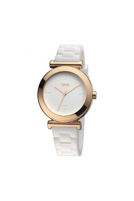 Relógio ONE NEW MATT Branco