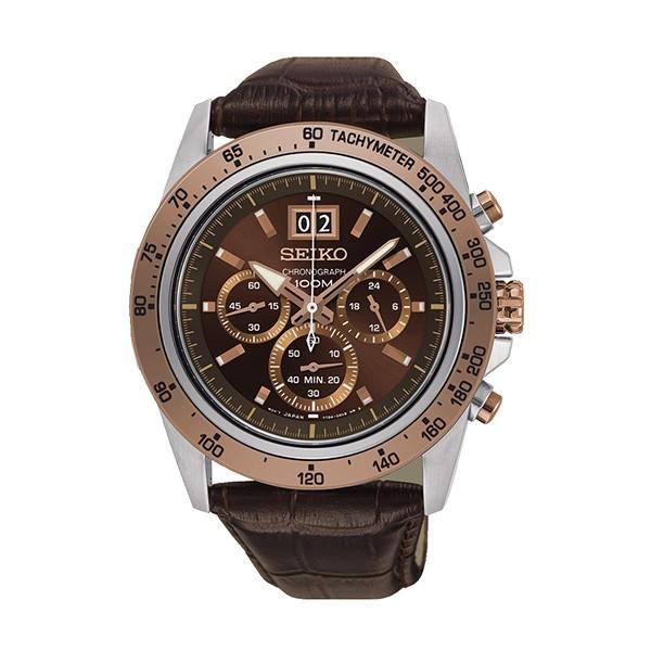 Relógio SEIKO Neo Sports Castanho SPC248P1