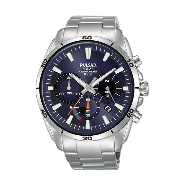 Relógio PULSAR Active Prateado PZ5057X1