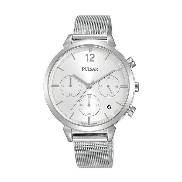 Relógio PULSAR Casual Prateado PT3943X1