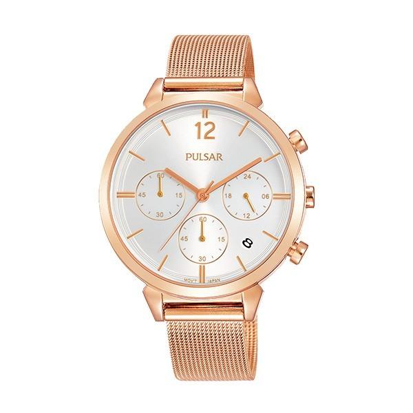 Relógio PULSAR Casual Ouro Rosa PT3944X1