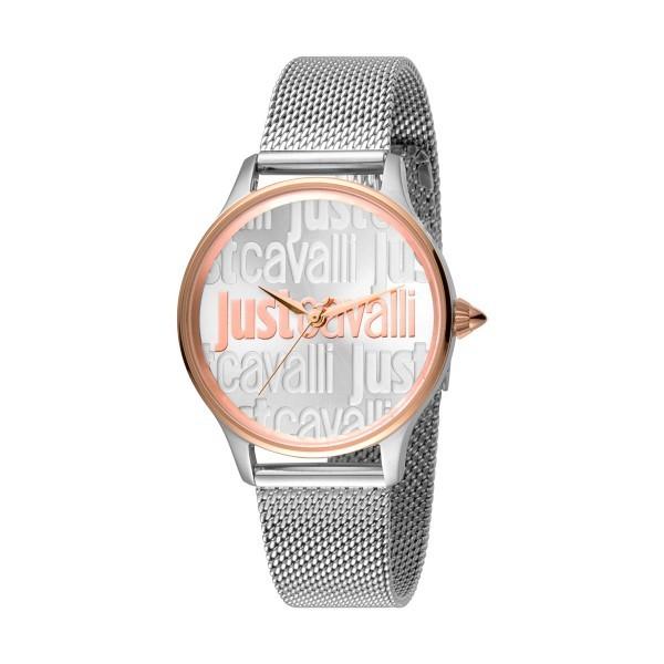 Gift Set JUST CAVALLI Relaxed Relógio e Pulseira JC1L032M0305