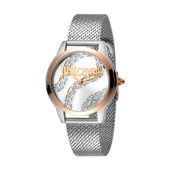 Relógio JUST CAVALLI  Logo Bicolor JC1L050M0295