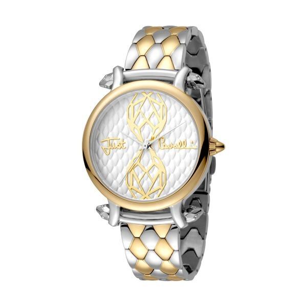 Gift Set JUST CAVALLI Animal Relógio e Pulseira JC1L061M0095
