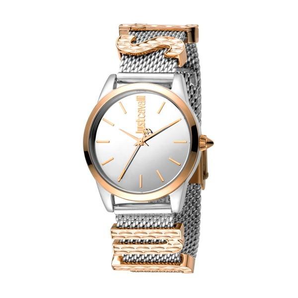 Relógio JUST CAVALLI  Logo Bicolor JC1L072M0055