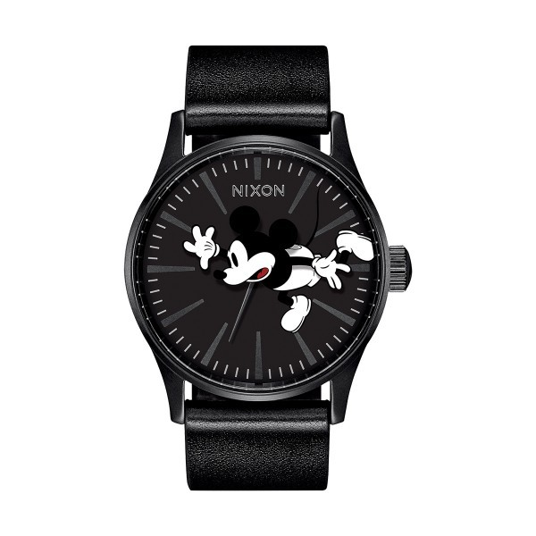 Relógio NIXON Sentry Preto (Mickey) A105-3093